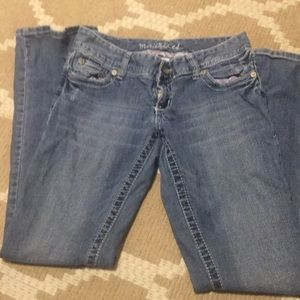 Maurices Jeans - Maurice's size 3/4 regular length jeans.